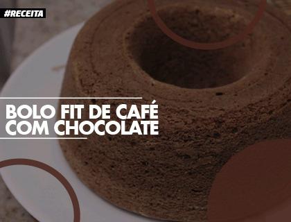 Receita Fit de Café com Chocolate