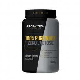 100% Pure Whey Zero Lactose 900 G - Probiótica
