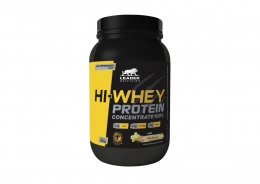 Hi Whey Protein Concentrate 100% (900g) - Baunilha