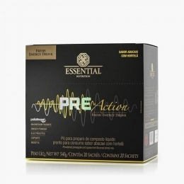 Pre Action 20 Sachês 540g Fresh Energy Drink - Essential